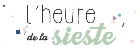 L'heure de la sieste [ blog de mamans ]